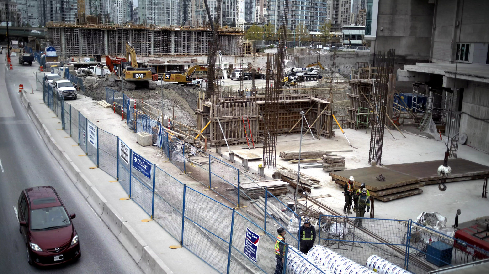 Commercial construction camera systems