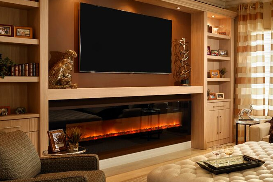Electric Fireplace Is A Great Way To Add Home Value