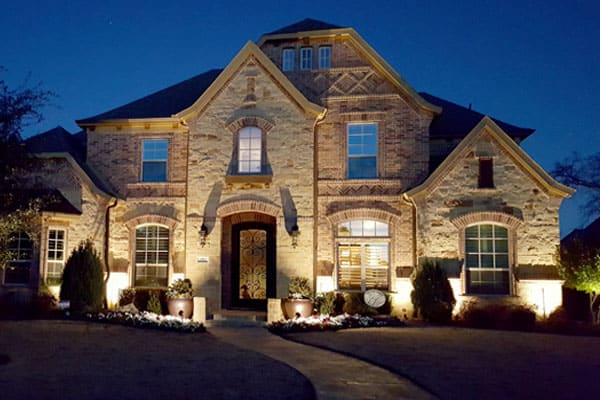 Exterior Uplighting Holidays