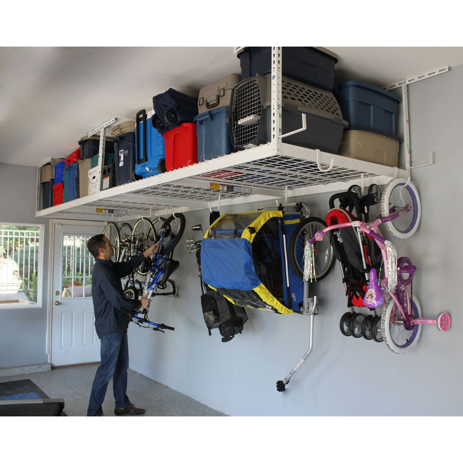 Overhead storage racks Archives - Plano Texas Handyman