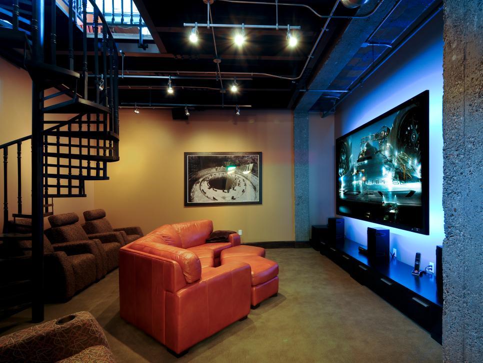 Perfect Media Room